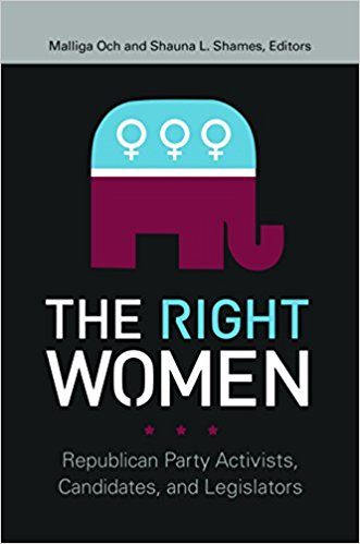 Shauna Shames co-edited The Right Women: Republican Party Activists, Candidates, and Legislators, published in January, and authored the 2017 book, Out of the Running: Why Millennials Reject Political Career and Why It Matters.