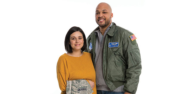 Air Force Couple Deployed Often