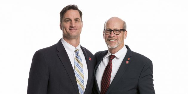 A Father-and-Son Legacy of Supporting Rutgers Veterans